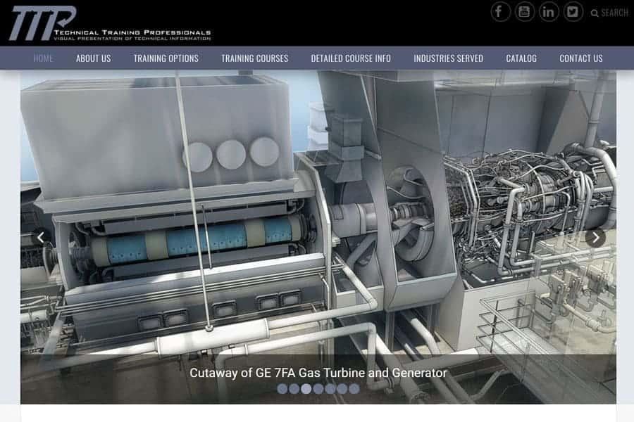 visual-technical-training-tectrapro-website