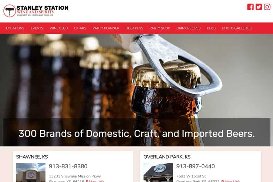 wine-and-spirits-stanley-station-store-website